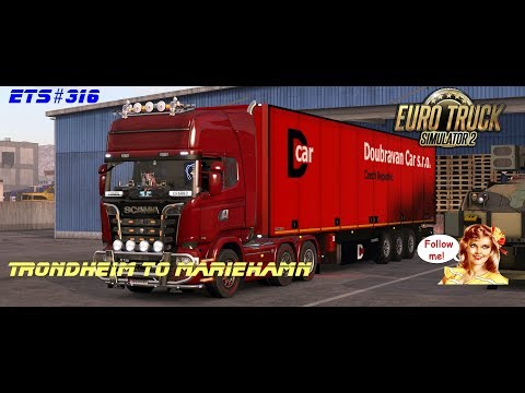 ETS#316 Transporting 20 Tons of Chocolate from Trondheim to Mariehamn 735 KM