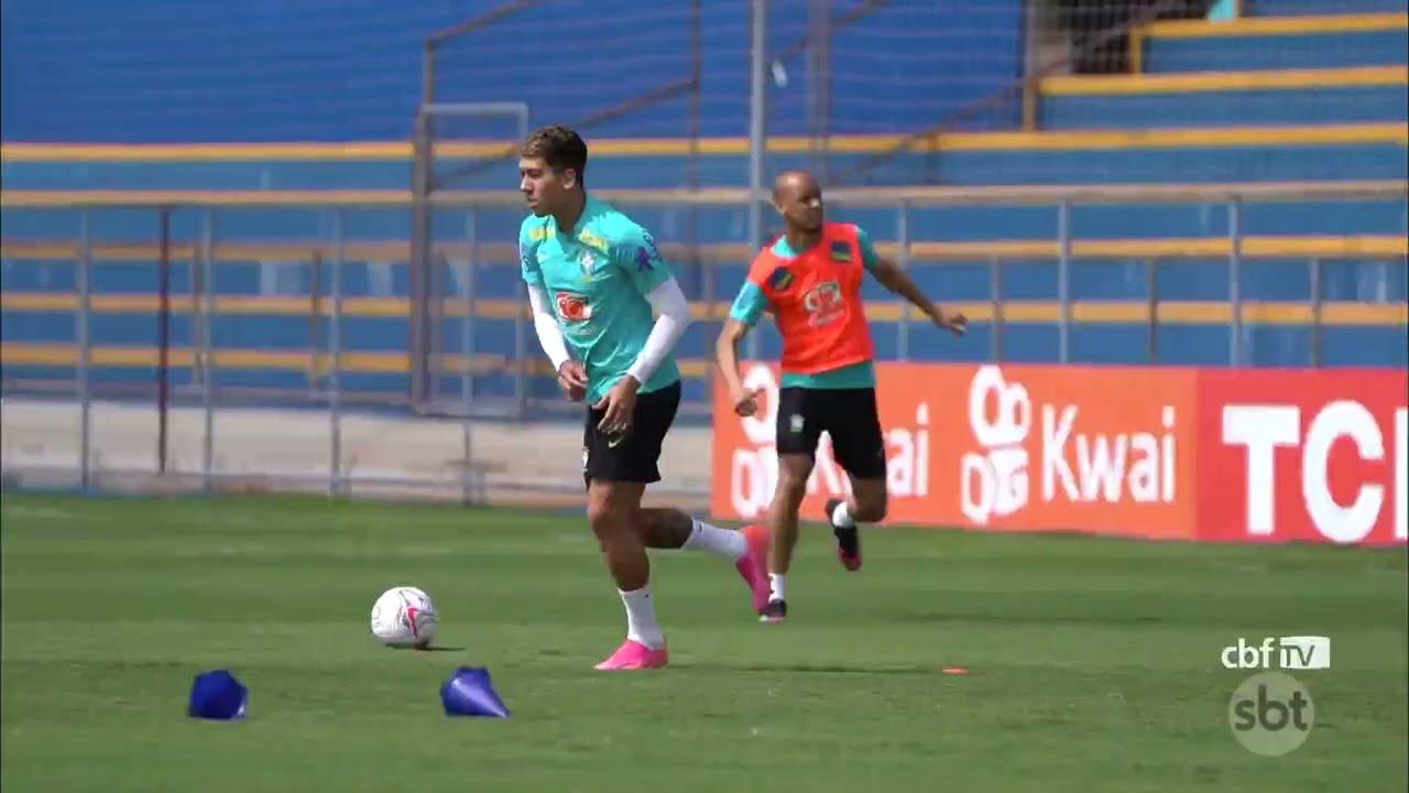 Seleção brasileira chega ao Rio de Janeiro para se preparar para duelo contra o Peru na Copa América
