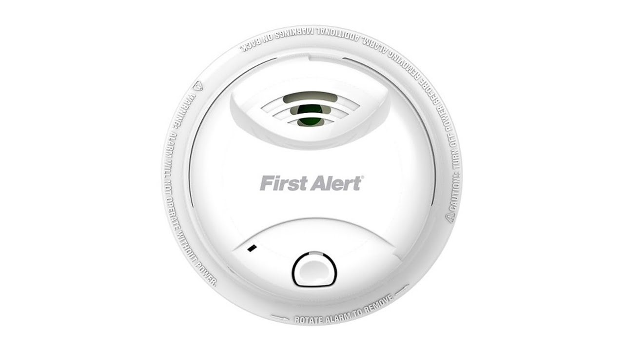 First Alert 10 Year Sealed Battery Ionization Smoke Alarm 0827b
