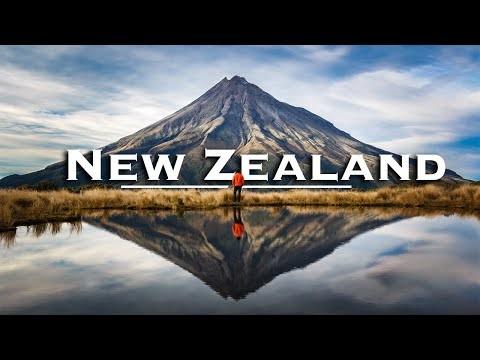New Zealand | A Relaxing Nature Vacation 4K