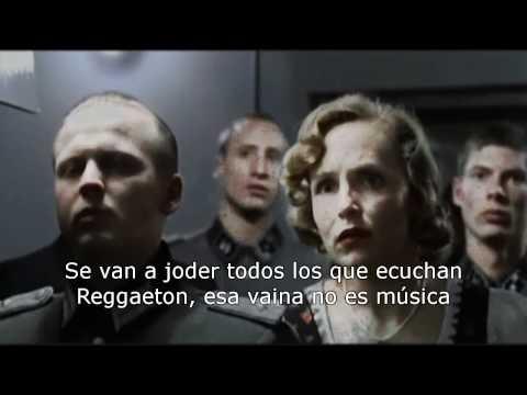 Hitler se entera que existe el Reggaeton