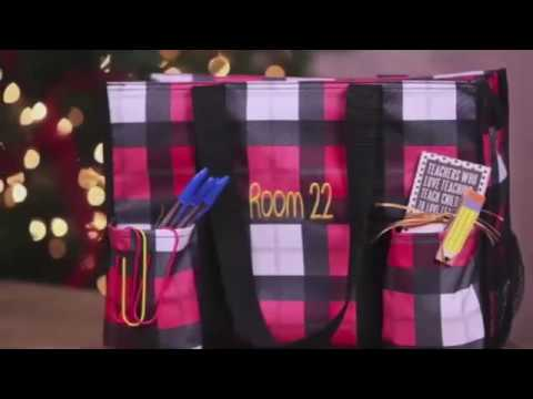Zip Top Organizing Utility Tote Thirty One Gifts Youtube
