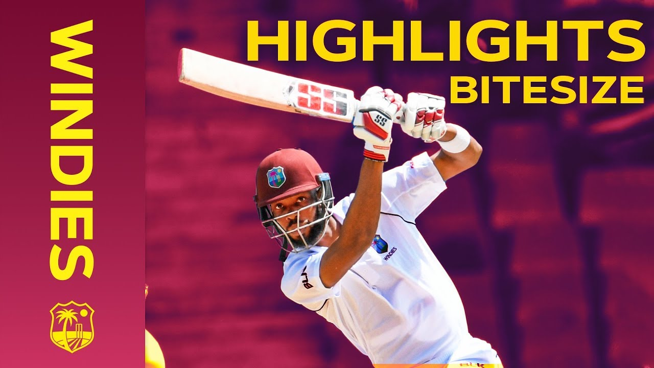 Windies vs India 1st Test Day 4 2019 | Bitesize Highlights