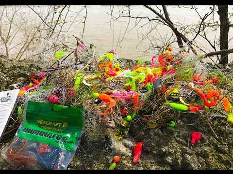 River Treasure - Recycled Fishing Lure Challenge!!