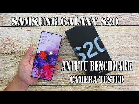Samsung Galaxy S20+ Cloud Blue unboxing | camera, fingerprint, face unlock tested
