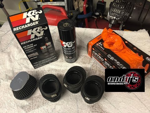 K&N Filter Clean & Oil - How & why to do it properly