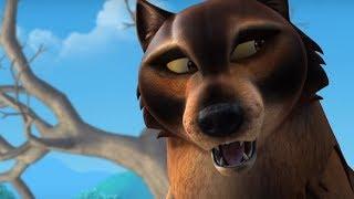 Маугли - Книга Джунглей - Настоящий волк –развивающий мультфильм для детей
