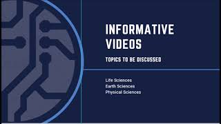 Introductory video - Science by Discovery Centre