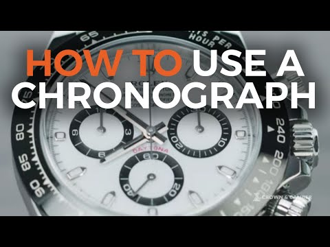 How To Use A Chronograph | Rolex Daytona 116500