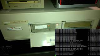 Listing TK50 tape with TZ30 Tape Drive under OpenVMS VAX