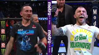 Download UFC 245: Alexander Volkanovski & Max Holloway Octagon Interview Mp3 and Videos