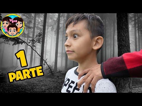 ALGUIEN NOS PERSIGUE EN EL BOSQUE | PARTE 1 | Las Leoncitas Kids