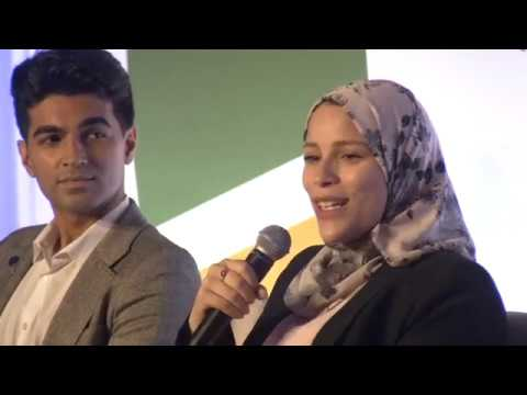 SDG Advocate Dr. Alaa Murabit in Conversation with Young Climate Activists