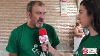 Entrevistas Marcha del Carbón Medina del Campo