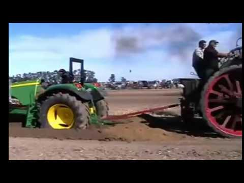 John Deere VS 1800 Steam Tractor