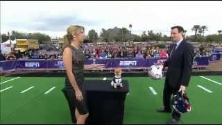 Jiff The Pomeranian Predicts Super Bowl - Sportscenter (01-31-2015)