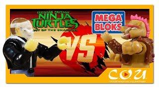 Черепашки-Ниндзя 2 | MEGA BLOKS Bebop Moto Attack | Teenage Mutant Ninja Turtles: Out of The Shadows