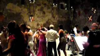 Caerphilly Castle Wedding Ceilidh - Pluck & Squeeze Band