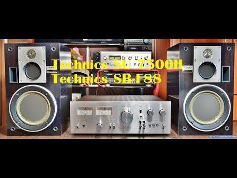 Technics SU 7300II,Technics SB-F88 видеообзор с разборкой. Video Review With Disassembly