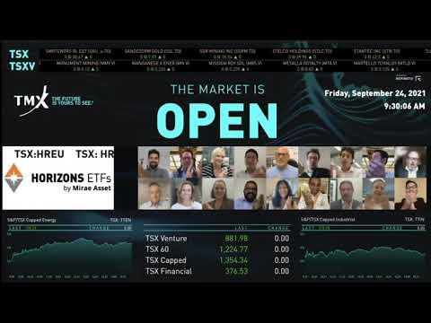 Horizons ETFs Virtually Opens the Market