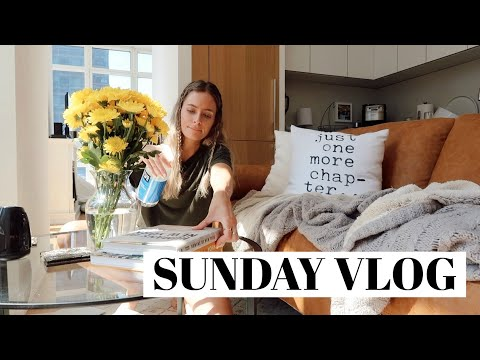 Sunday VLOG: deep cleaning my apt weekly planning & selfcare