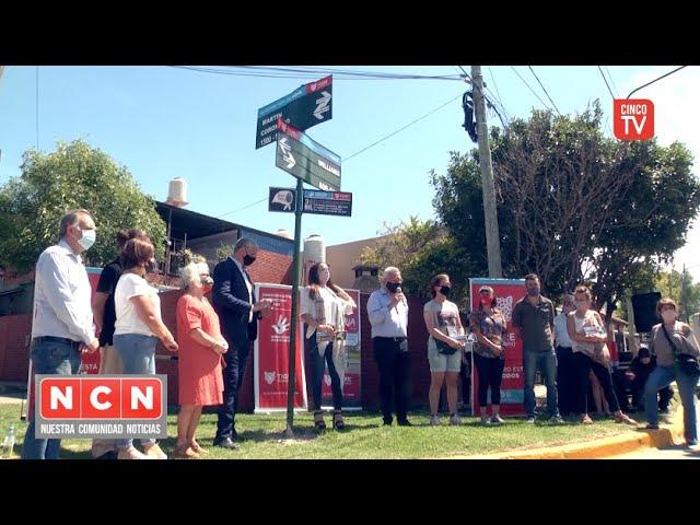 CINCO TV - El Municipio de Tigre homenajeó a víctimas de terrorismo de Estado