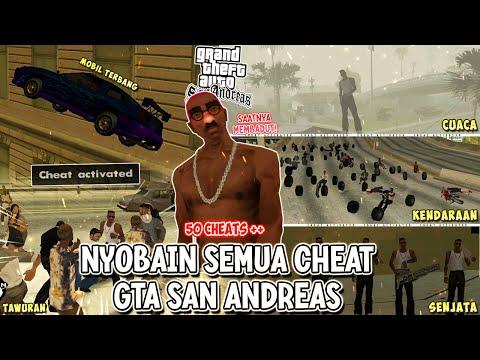 Mencoba Semua Cheats Di GTA San Andreas Indonesia