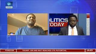 UNGA: Why Buhari Focused  On Peace And Security - Adeshina |Politics Today| thumbnail