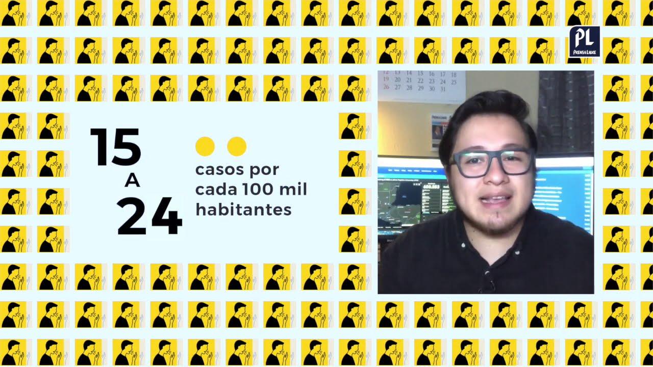 ¿Cómo calculo en qué color está mi municipio por el coronavirus en Guatemala? | Prensa Libre