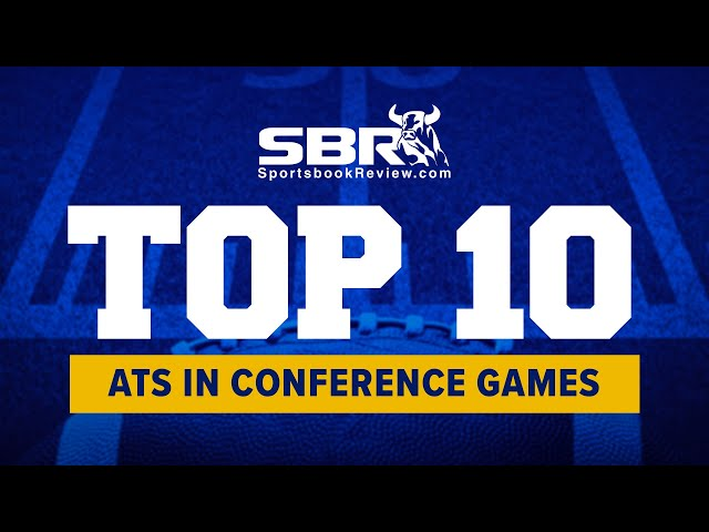 NCAAF Top 10 ATS in Conference Games