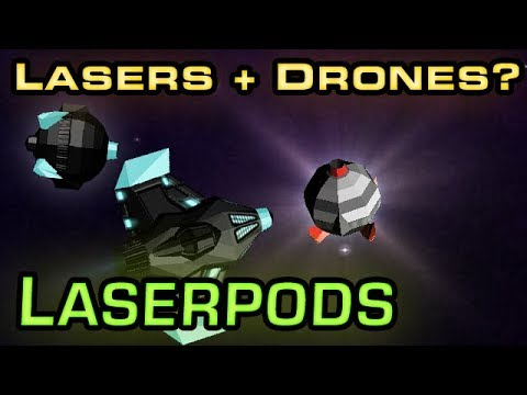 The first ever secondary weapon - LASERPODS!  an AWESOME new feature! Starblast.io