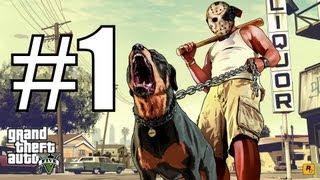 Прохождение Grand Theft Auto V (GTA 5) - Часть 1