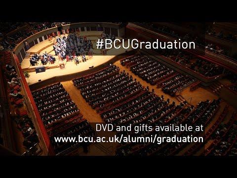 Birmingham City University graduation ceremony - Tues 12 Jan 2016 PM