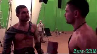 Спартак съёмки клип