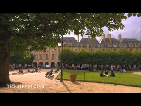 Paris, France: The Marais District