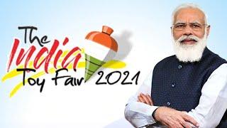 Download PM Narendra Modi inaugurates 'The India Toy Fair 2021'