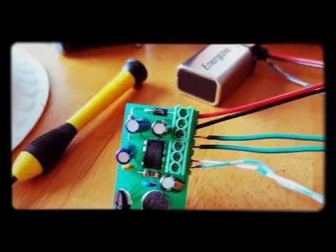 Tiny voice Amp, big sound!