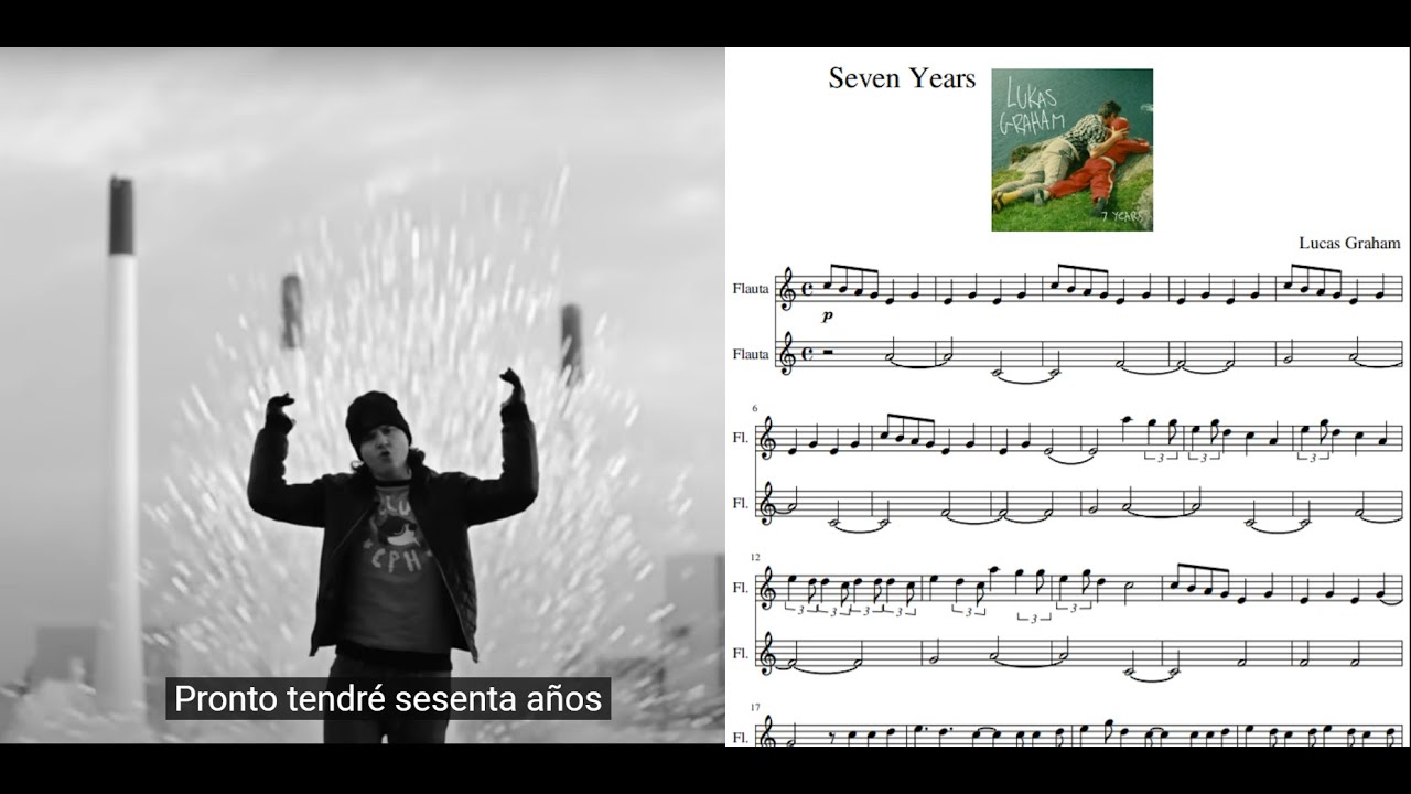 Populaire Seven years. Lukas Graham. Partitura flauta dulce. - YouTube UT72