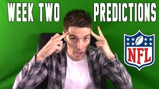 LazarBeam Predicts! NFL WEEK TWO!