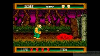 Splatterhouse 2 (2010 Version) HD Longplay