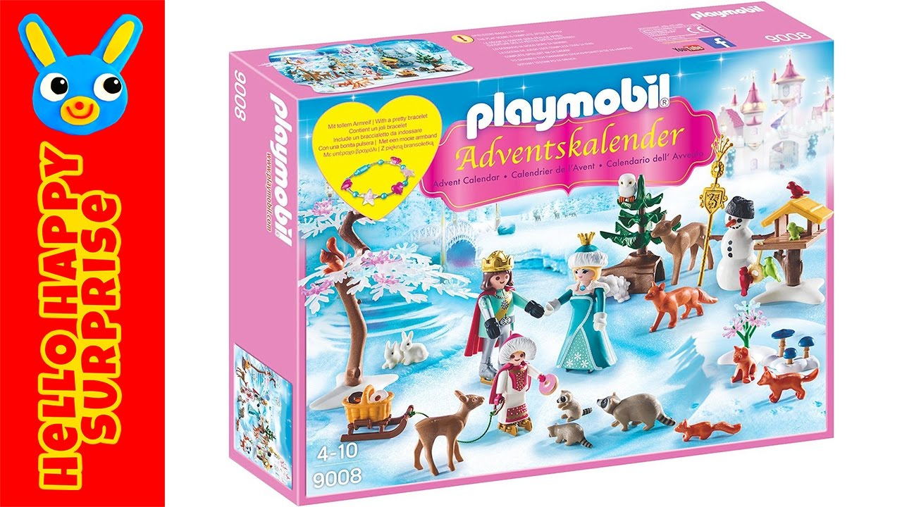 playmobil adventskalender 2016 unboxing 9008 eislaufprinzessin im schlosspark youtube. Black Bedroom Furniture Sets. Home Design Ideas