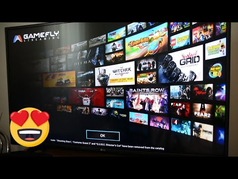 Gamefly - Game Streaming SmartTV LG - WebOS - Witcher 3, Hitman, MotoGP