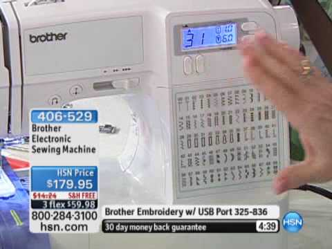 Brother Electronic Sewing Machine YouTube Fascinating Brother Computerized Sewing Machine Sc6600a