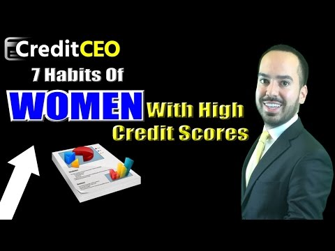 Habits Of Women With High Credit Scores