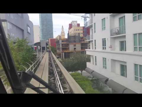Miami Metromover-Bayfront Park to Freedom Tower Station