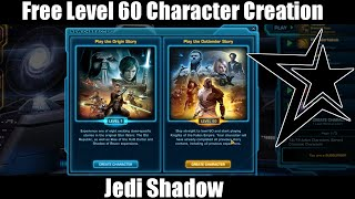 SWTOR: 4.0 - Free Level 60 Character Creation (KOTFE)