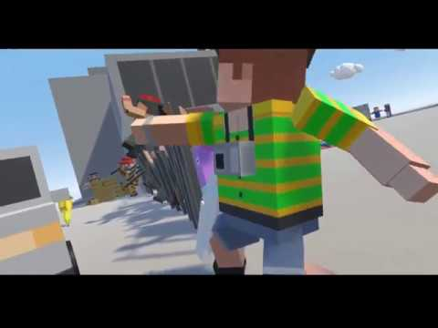 Pizza & Traffic Cones. Tiny Town VR #3