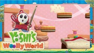 Wollige Süßigkeiten & Spielzeuge #7 🧶 Yoshi's Woolly World | Let's Play Wii U