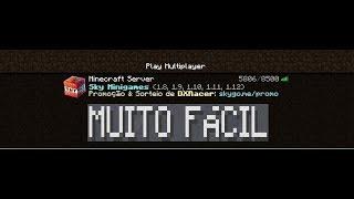 Como trocar (recuperar) a senha do servidor no minecraft! sem erro!!