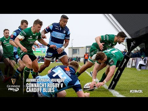 Guinness PRO14 Round 20 Highlights: Connacht Rugby v Cardiff Blues